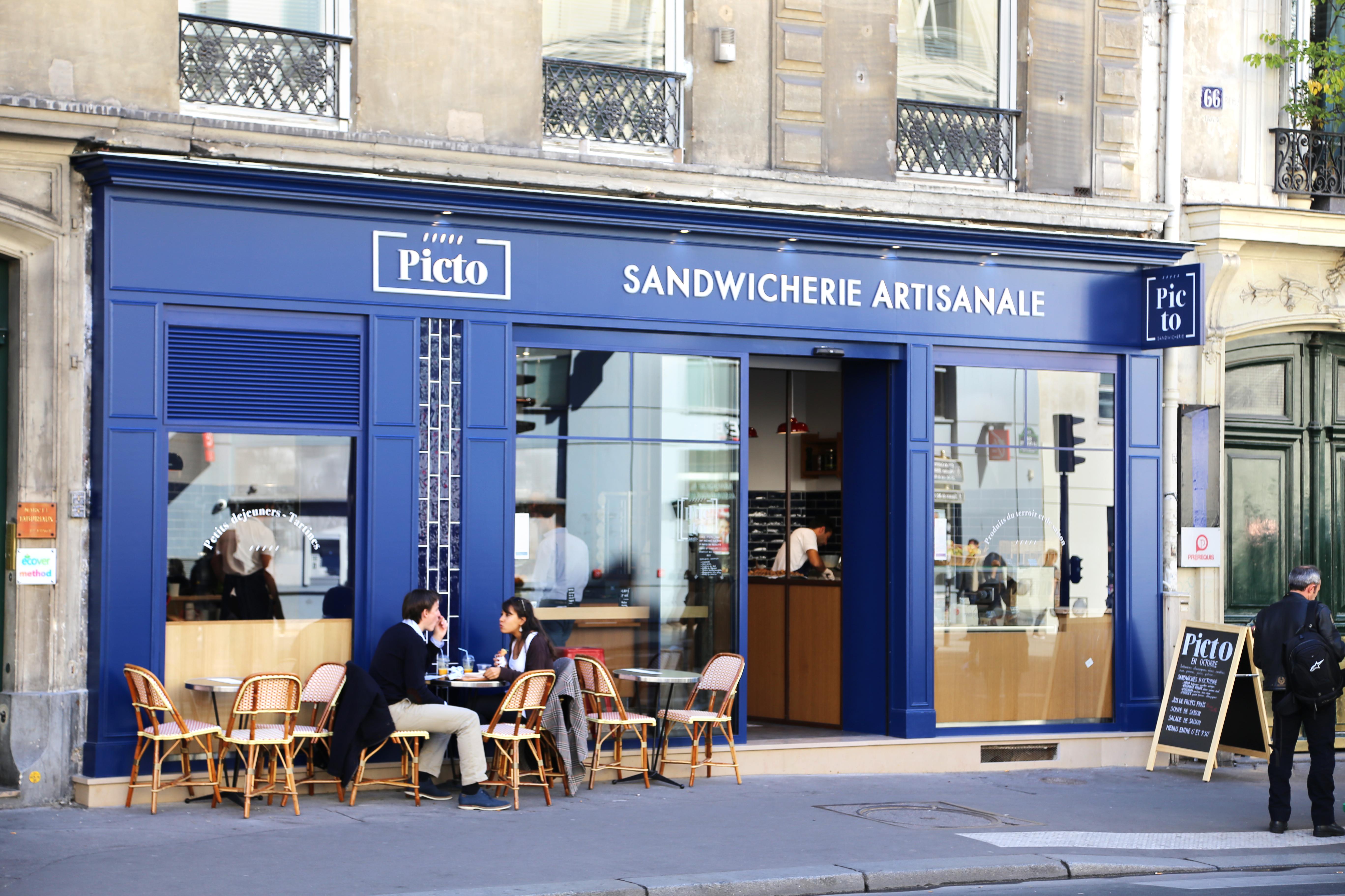 Bleu Picto Sandwich