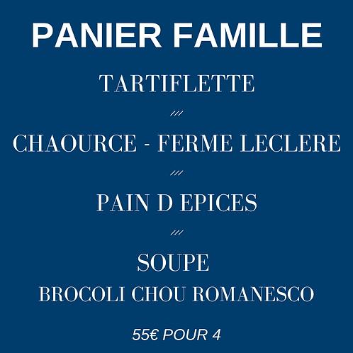 Panier FAMILLE - 2 repas pour 4 pers.