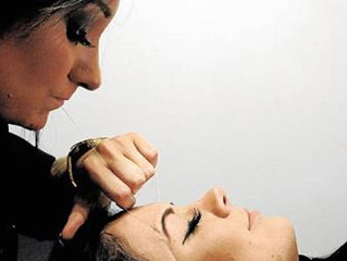 Threading at Just Lashes in the News