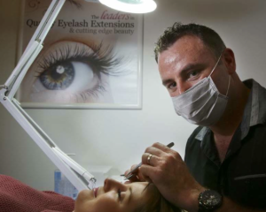 Welcome First Male Specialist at Just Lashes