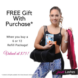 Exciting new Just Lashes Promotion