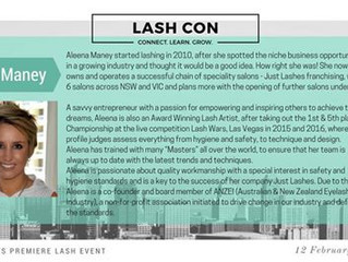 Just Lashes Guest Speaker at Melbourne and Perth Conferences