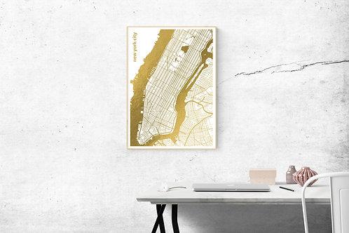 New York - Foil