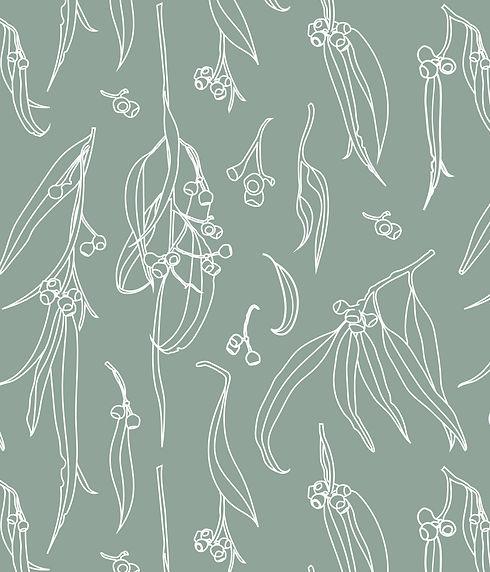 TINY GIRAFFE-Eucalyptus Leaves-Mint-Deta