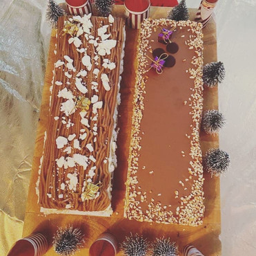 buche la tarte au carre