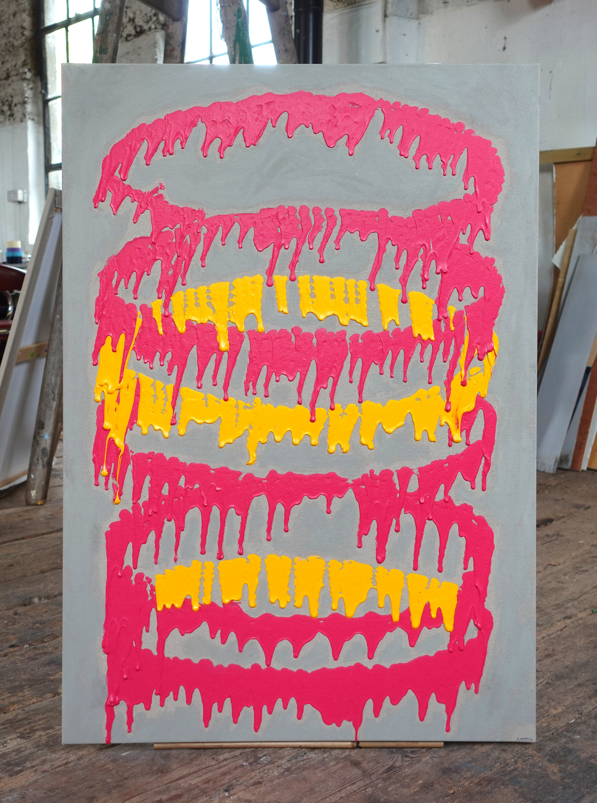 No.18 - 100x70cm - Acrylic on canvas