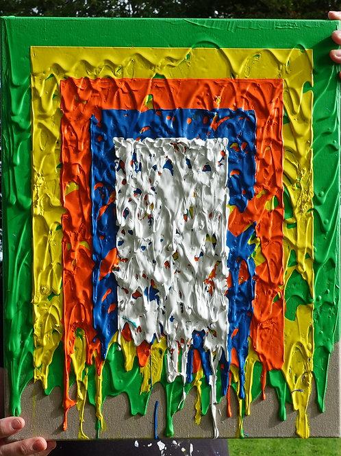 Shadowtrap - 41x51cm - Acrylic on canvas