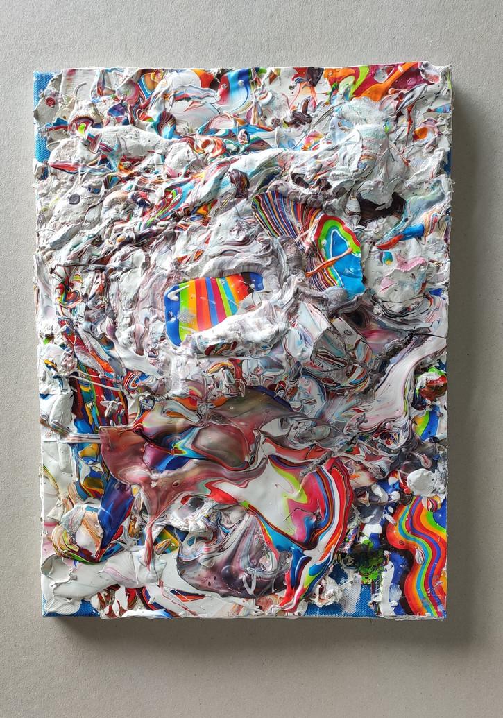 'Happy Birthday' - 2020 - Acrylic on can