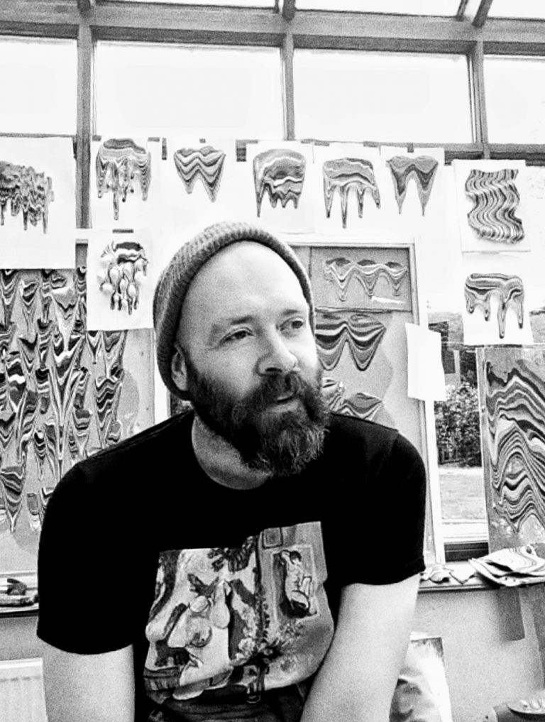 Portrait of Derick Smith Artist taken by Eadaoin Curtin