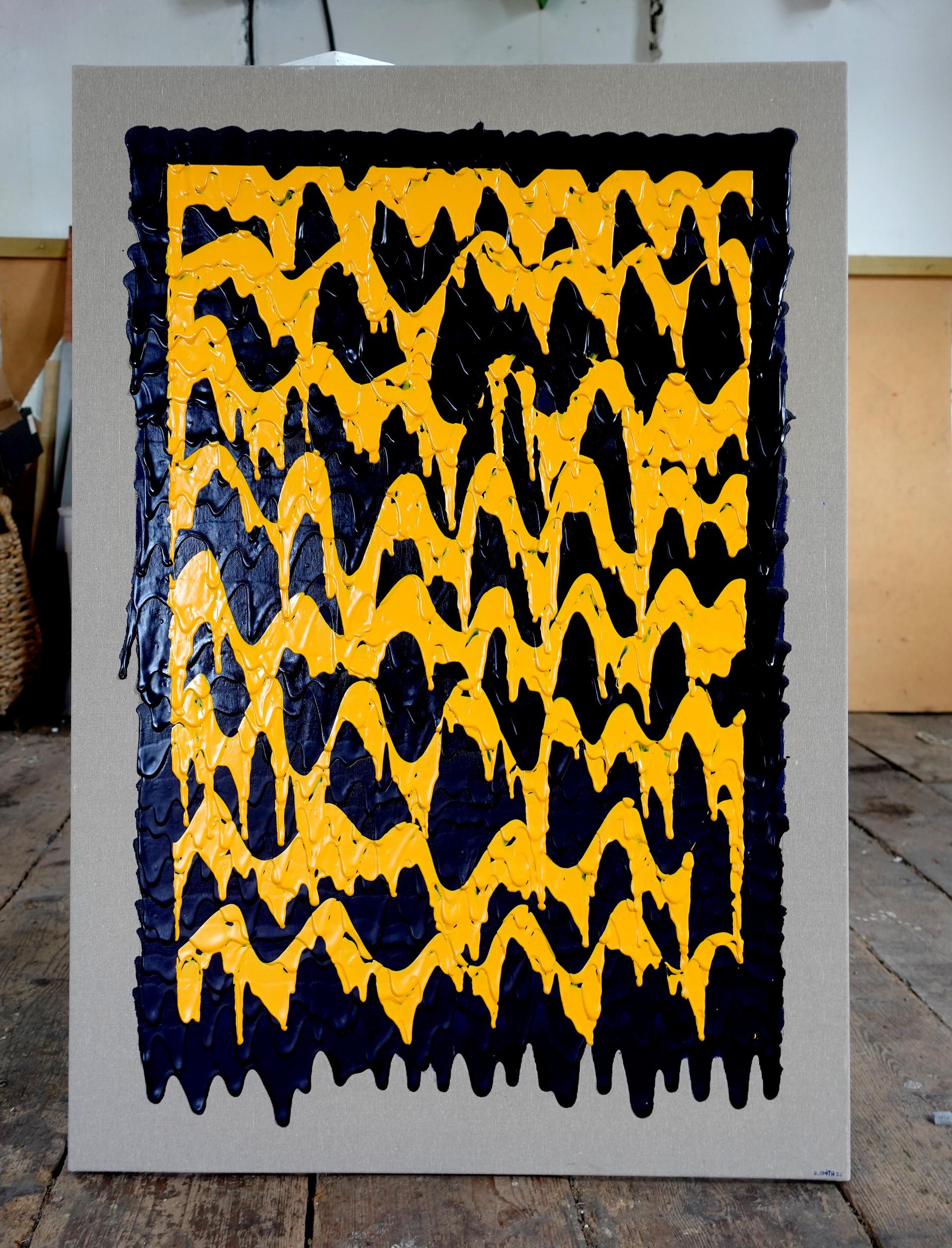 No.19- 100x70cm - Acrylic on canvas