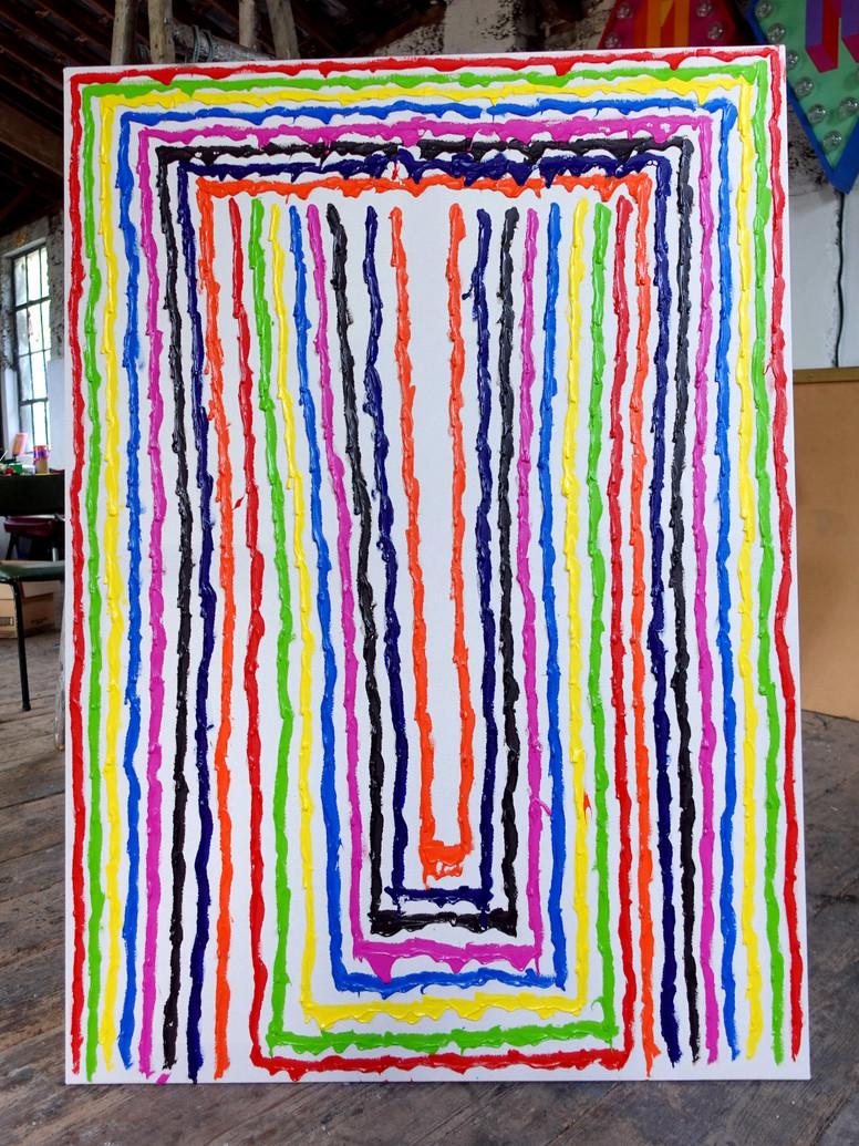 No.39 - 2000x1500cm - Acrylic on canvas