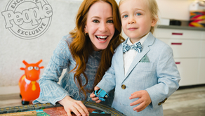 Amy Davidson Celebrates Son Lennox's Second Birthday at WeVillage