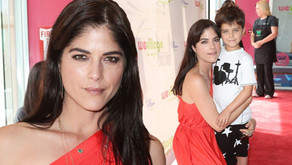 Selma Blair & Son Arthur Attend the Grand Opening of WeVillage's L.A. Flagship Center