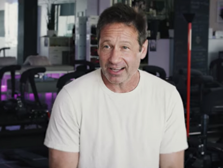 David Duchovny Finds Lagree Fitness