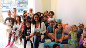 Garcelle Beauvais Shares Awesomeness with Kids at WeVillage in Sherman Oaks