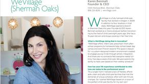 Women in Business: Karen Beninati, Founder & CEO of WeVillage