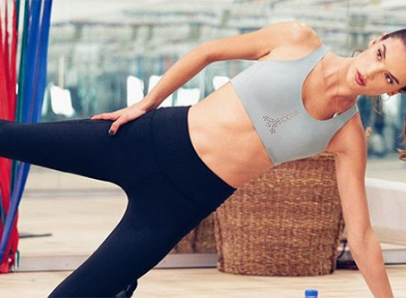 Victoria's Secret Angels Alessandra Ambrosio, Karlie Kloss, and Martha Hunt's Lagree Pilates Secrets