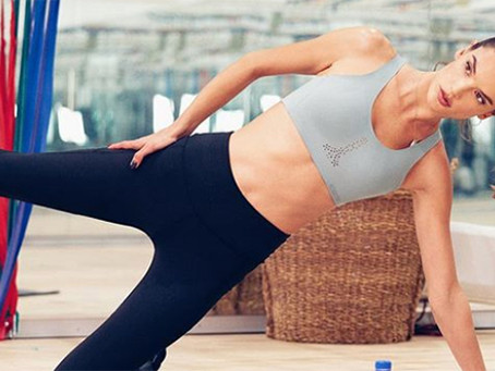 Victoria's Secret Angels Alessandra Ambrosio, Karlie Kloss, and Martha Hunt's Lagree Pilates Secrets