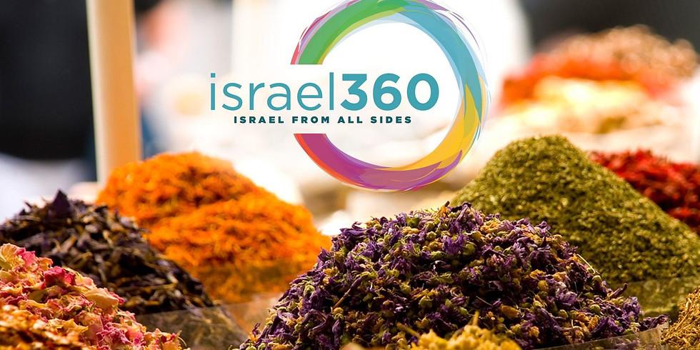 israel360 Presents: A Sensory Tour of a Haifa Shuk