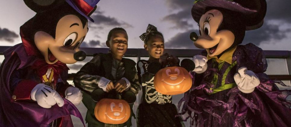 Disney's Halloween on the High Seas Cruises