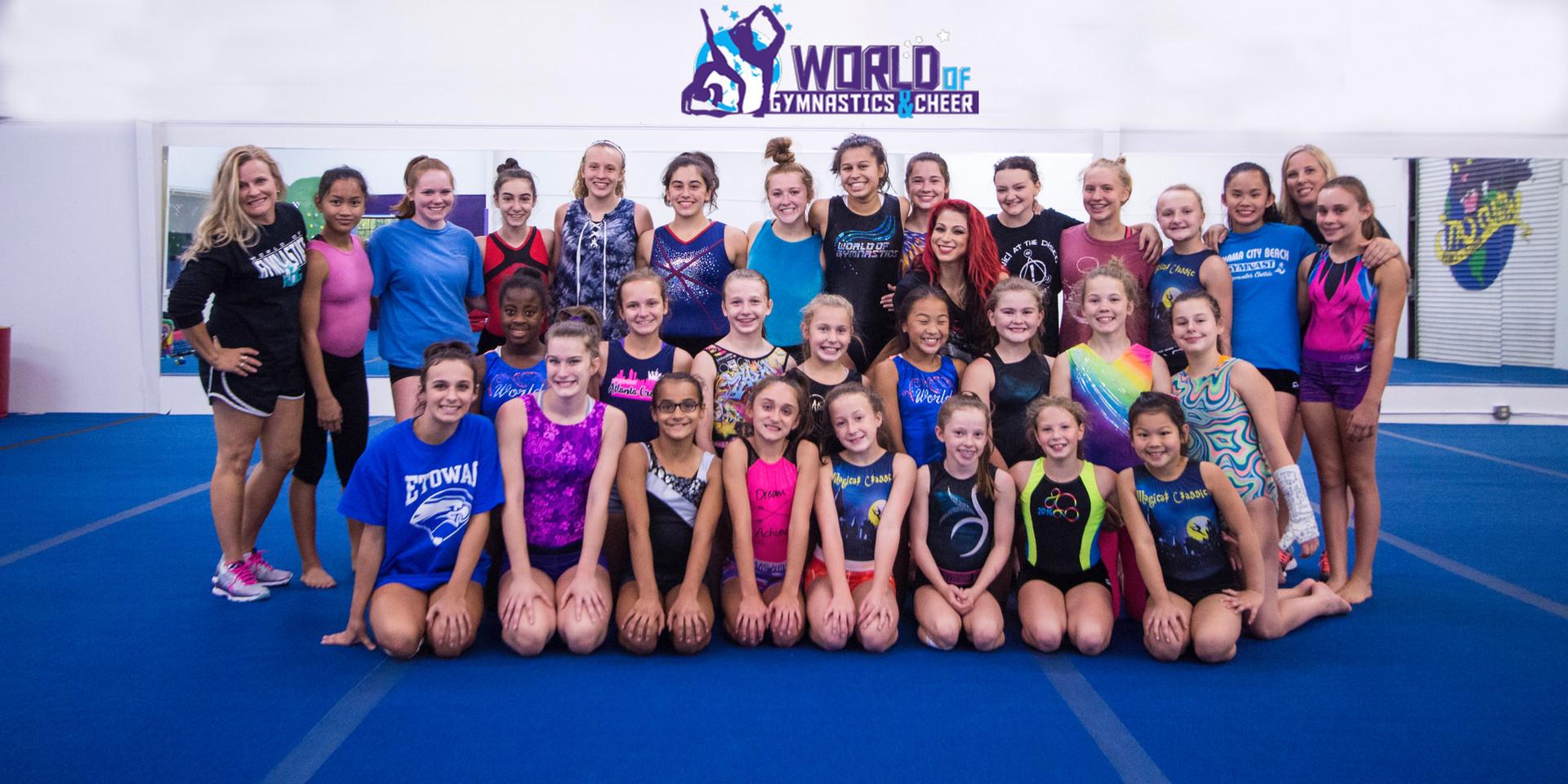 World of Gymnastic and Cheer Georgia