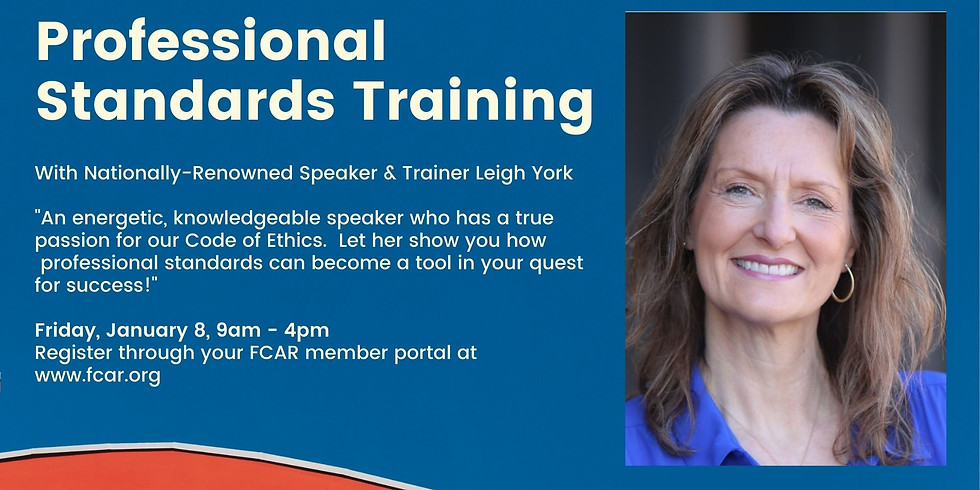 Professional Standards Training with Leigh York