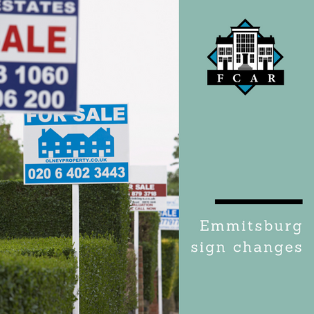 Emmitsburg Considers Signs Changes