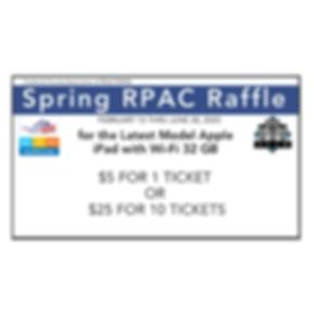 Copy of RPAC Spring Raffle Ticket 2020 (