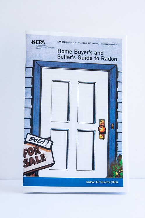 Home Buyer's and Seller's Guide to Radon