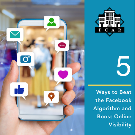 5 Ways to Beat the Facebook algorithm and Boost Online Visibility