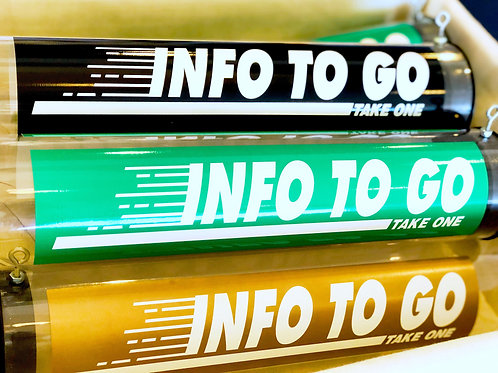 Info-To-Go Tubes