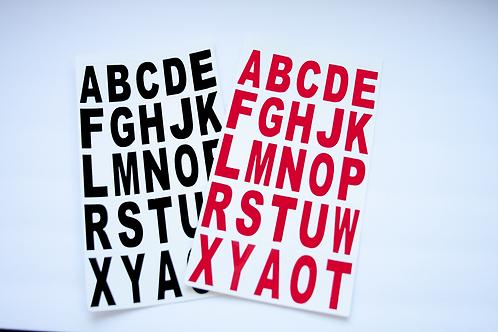 Vinyl Letters 3 inch