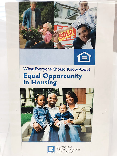 Equal Opportunity Brochure
