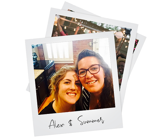 Poloroid PIcture Alex and Summer small.p