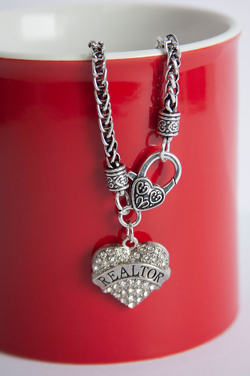 REALTOR® Heart Necklace