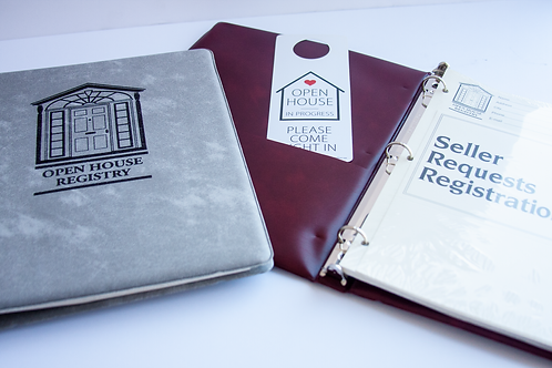 Open House Registry Book