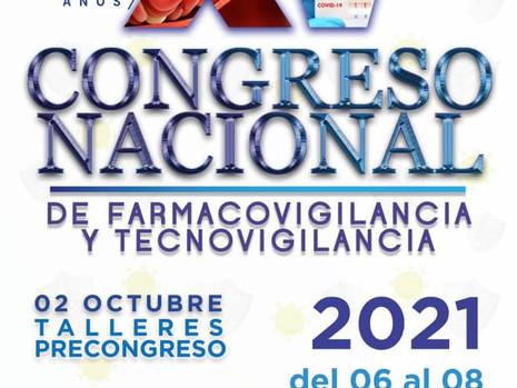 XV Congreso Nacional de Farmacovigilancia y Tecnovigilancia