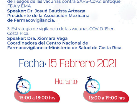 1er. Simposio Virtual Centroamericano de COVID-19 y su seguridad.