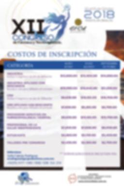 COSTOS INSCRIPCION FARMACOVIGILANCIA 201