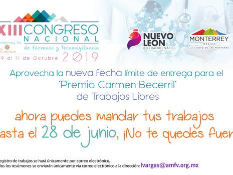 """Participa en el """"Premio Carmen Becerril Martínez"""" de Trabajos Libres"""
