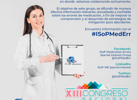 ISoP Medication Errors Special Interest Group