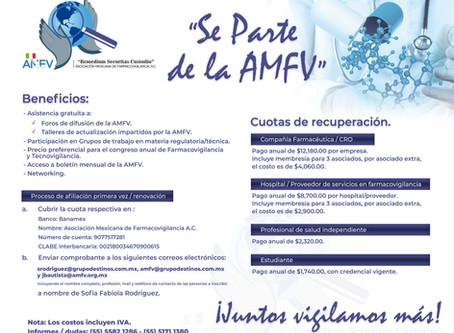 ¡Se parte de la AMFV!