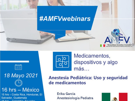 AMFV-Webinar: 18 de Mayo