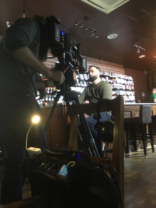 Shooting a Documentary on Vaping for VIce