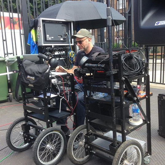 Sound Cart on Cricket World Cup Ad