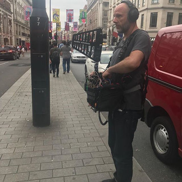 Production Sound Mixer on London's Streets