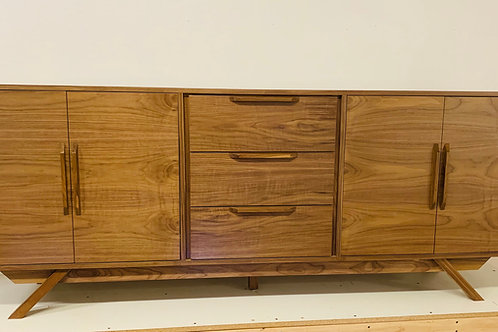 Walnut Buffet / TV Console / Bathroom Vanity Cabinet