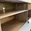 Thumbnail: (W67) Black & Walnut MCM TV Console / Record Cabinet /  Buffet / Liquor Cabinet