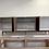 "Thumbnail: (W23) Mid Century Style 96"" Overlay Door Credenza - Free Shipping!"