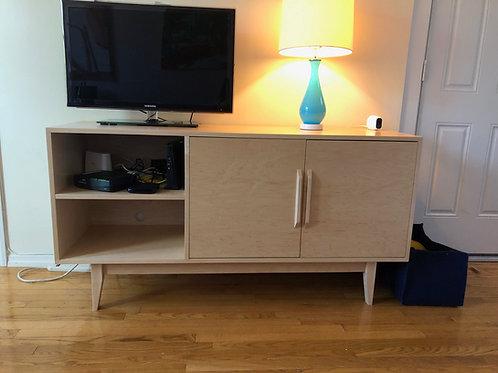 (M4) Maple 2 Door with side shelf